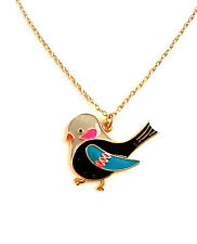 New Animal-themed Cosmetic Jewellery Long Necklace with Plump Bird Pendant