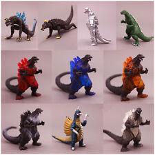 10pc Godzilla Monsters Mechagodzilla Anguirus Toy Figures Furnishing articles