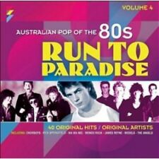 AUSTRALIAN POP OF THE 80s VOLUME 4 RUN TO PARADISE VARIOUS ARTISTS 2 CD NEW