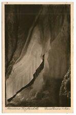 Ältere SW-Ansichtskarte von der Attendorner Tropfsteinhöhle   (1085)