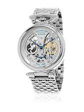 Stuhrling 797 01 Herren Legacy Automatische Skelett Edelstahl Armbanduhr
