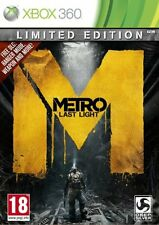 XBOX 360 game ** METRO LAST LIGHT ** Limited Edition ** new sealed