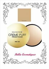 MAX FACTOR CREME PUFF PRESSED POWDER 13 NOUVEAU BEIGE 21gm MAKEUP FOUNDATION