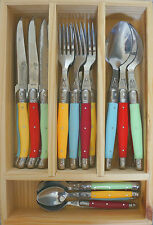 LAGUIOLE by Louis Thiers 24 Piece Cutlery Set - Linéaire -DAMAGED WRAP -RRP $349