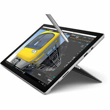 """Microsoft 12.3"""" Surface Pro 4 i5 128GB Multi-Touch Tablet Silver ggx"""