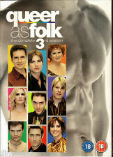 Queer As Folk - Series 3 USA (DVD, 2008, 4-Disc Set) --- NEW SEALED