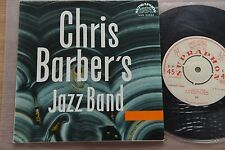 CHRIS BARBER'S JAZZ BAND live in Prague 1963 7'' single Supraphon SUK 35525 MINT