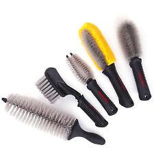 Motorcycle Brush And Scrub Set Motorbike Set Of 5 Cleaning Brushes
