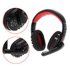 Wireless Bluetooth Gaming Headset Earphone Headphone For Tablet PC Cellphone