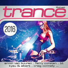 CD Trance 2016 von Various Artists  2CDs