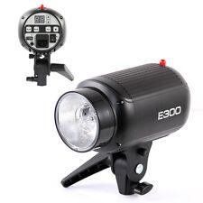 Godox E300 300W Photo graphy Studio Strobe Flash Light Lamp Head Highlight 220V
