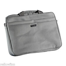 "Kensington LS240 13"" 14"" Laptop Bag Tablet Padded Messenger Carry Case DARK GREY"
