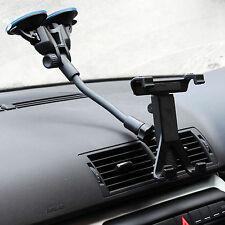Dual Suction Car Windscreen Mount + X Tablet Holder for Samsung Galaxy Tab A 9.7