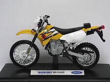 Speed/TOP, SUZUKI  DR-Z 400 S, Motorrad, Moto, Bike, Motorcycle, WELLY 1:18