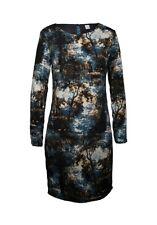 S. OLIVER  Kleid  Dress  Druckkleid  Print  Edel  Mehrfarbig  Gr. 34  XS  Neu