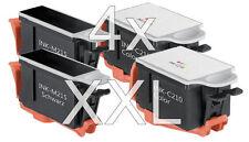4x XXL PATRONEN INK-M210 M215 C210 für Samsung CJX-1000 CJX-2000FW CJX-1050W Set
