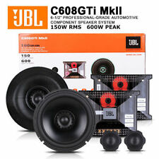 "NEW JBL C608GTi-mkII GTi Series 6-1/2"" / 6-3/4"" 2-way Component Car Speakers Sys"