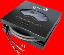 Dynavox Lautsprecherkabel Set 2x 3m / Dynavox Highend Lautsprecher Kabel Set