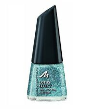 Manhattan 10g Lotus Effect Nail Polish Glitter 11ml Nagellack Glitzer Blau