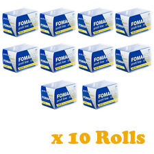 10 Rolls FOMAPAN 100 Profi Line Classic Black and White Film 35mm 36exp by FOMA
