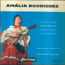 """7"""" Amalia Rodrigues/Triste Sina (Portugal - EP)"""