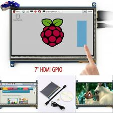 """7"""" Capacitive Touch Screen HDMI TFT LCD High Speed for Raspberry Pi/B/B+/Pi2 AU"""