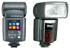 Nissin DI866 Mark II Blitz für alle Nikon Modelle Neuware DI-866 Blitzgerät
