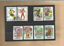 "Lot Briefmarken ""Madagaskar - Thema: Sport"""