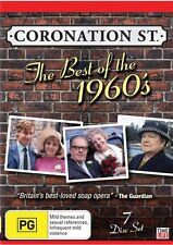 CORONATION STREET - THE BEST OF THE 1960's (7 DVD SET) BRAND NEW!!! SEALED!!!