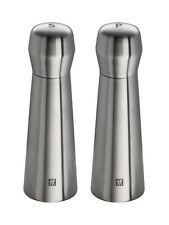 Twin Spices Salt Grinder And Pepper Mill 2 Piece Set 18/10 Stainless Steel