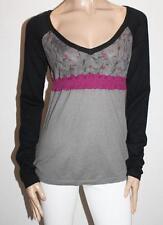 DDP Designer Black Grey Knitwear Long Sleeve Jumper Size XL BNWT #TA111