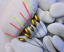 6 x New RF62 Rizov Hand Made Pole Floats