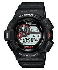 CASIO G-SHOCK MUDMAN MENS WATCH G-9300-1 FREE EXPRESS SOLAR BLACK G-9300-1DR