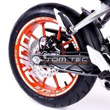 Aufkleber Felgenaufkleber KTM Duke RC 125 200 250 390 Felgenrandaufkleber Vers.3