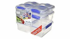 Sistema Klip It Plastic Storage Containers - Pack of 10