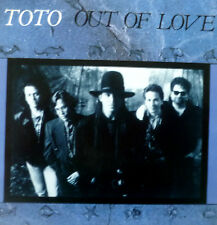 """7"""" 1986 KULT & RARE IN MINT- ! TOTO : Out Of Love"""