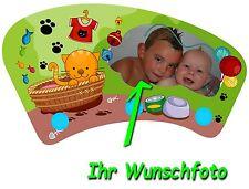 Wandgarderobe, Kleiderhaken für Kinder, Kinderzimmer mit Wunschbild / Namen !