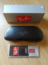 Ray Ban Sunglasses Black Hard Case /Cover /Pouch Cloth Included