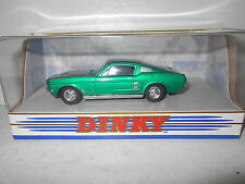 Dinky 1967 Ford Mustang Fast Back DY-16 - 1:43 Scale Die-Cast Car