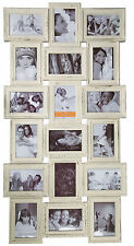 Antique Style Family Picture Photo Frame Holds 18 Photos Hanging Multi Aperture