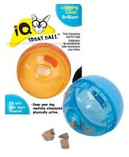 Our Pets IQ TREAT BALL Interactive Smarter Problem Solving Dog Toy SMALL 3-in