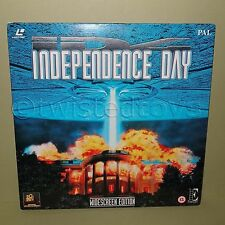 1996 ENCORE INDEPENDENCE DAY WIDESCREEN EDITION LASER DISC LASERDISC LD PAL