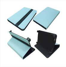 "Q41 Blue Leather Adjustable Case Cover For PocketBook Basic 611 WiFi 6"" eReader"