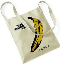 THE VELVET UNDERGROUND & NICO ANDY WARHOL Fahrradtasche Bicycle Sling Tote Bag