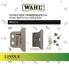 WAHL Double Wide Trimmer Blades Blade WA2215 incl. oil & screws for Detailer