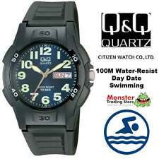AUSSIE SELLER GENTS WATCH DIVERS CITIZEN MADE DAY&DATE A128-003 100M WARRANTY
