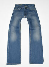 """Blue Denim LEE Straight Button Fly Faded Men's Casual Jeans Size W28"""" L30"""""""