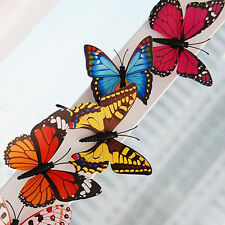 25Pcs/Set 3D Realistic Butterfly Decoration Wedding Party Room Wall Magnet Decor
