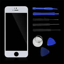 Replacement Front Outer Screen Glass Lens for Apple iPhone 5 5S 5C White + Tools