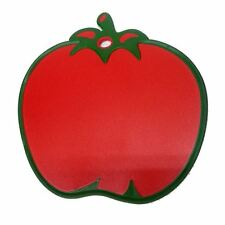 Kitchen Non Slip Chopping Cutting Board Worktop Different Tomato Shape Red